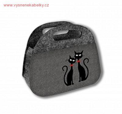 Svačinová taška Fit - Dvě kočky  bbb02b0421