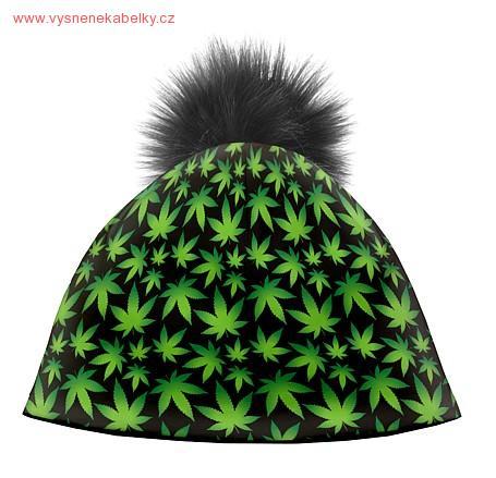 Zimní čepice dámská - Konopí 3 8b78970a69