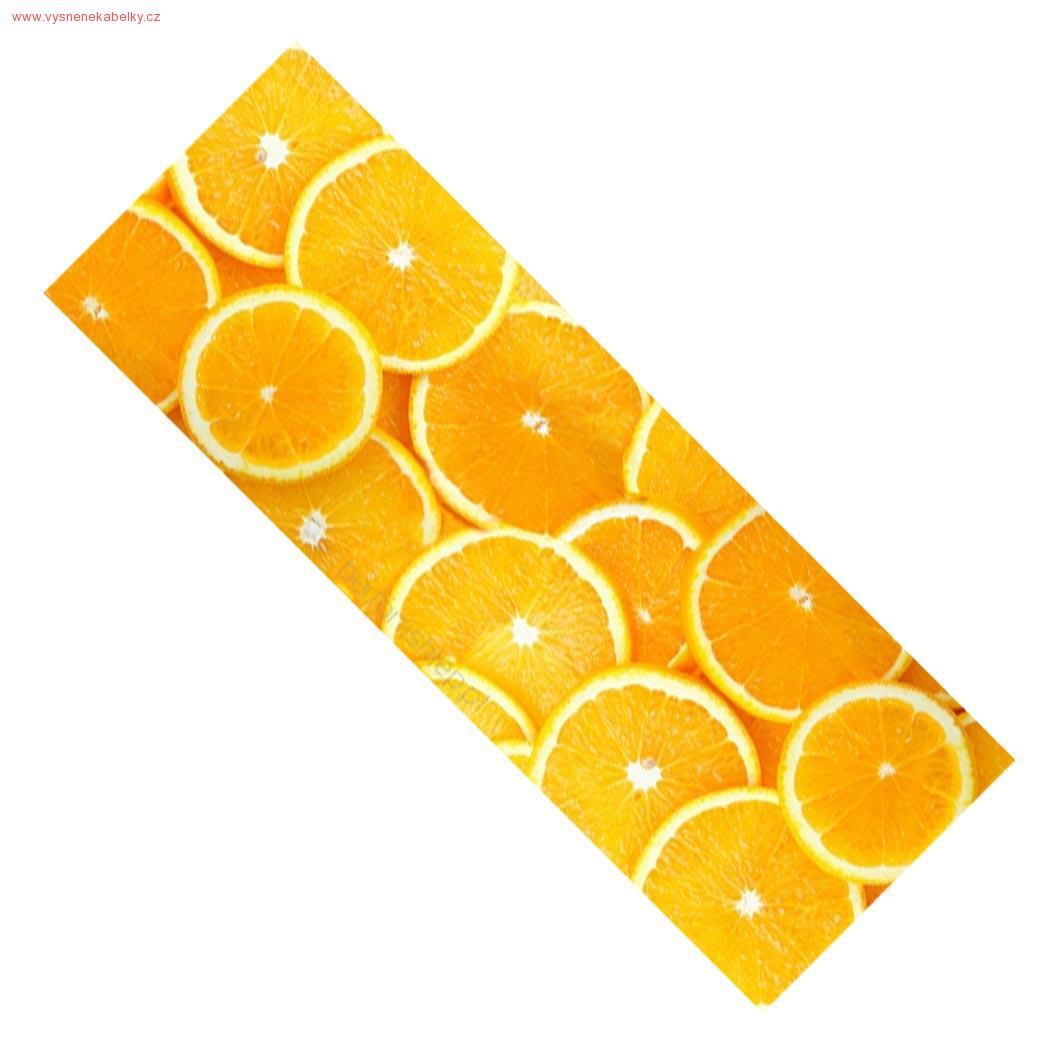 Běhoun na stůl  Pomeranč