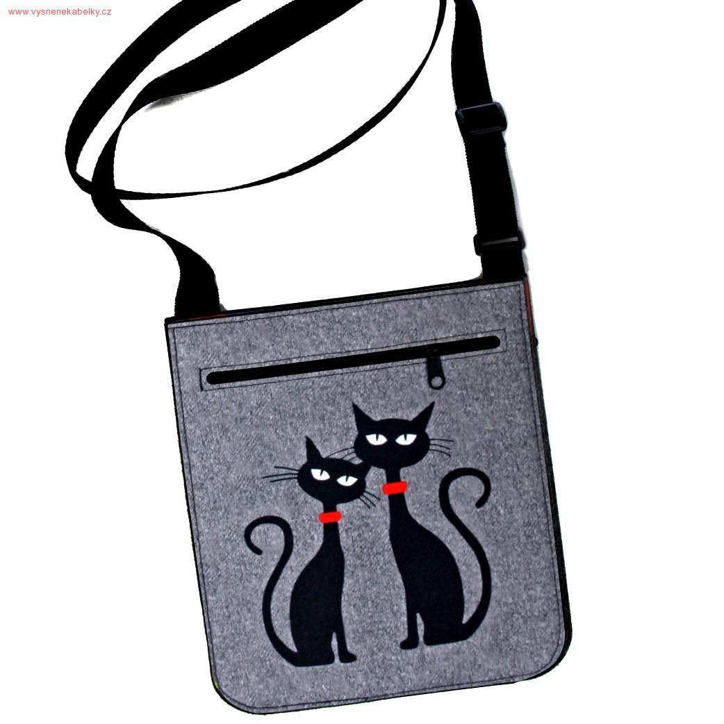 ea5187474ad Kabelka Pop Dvě kočky