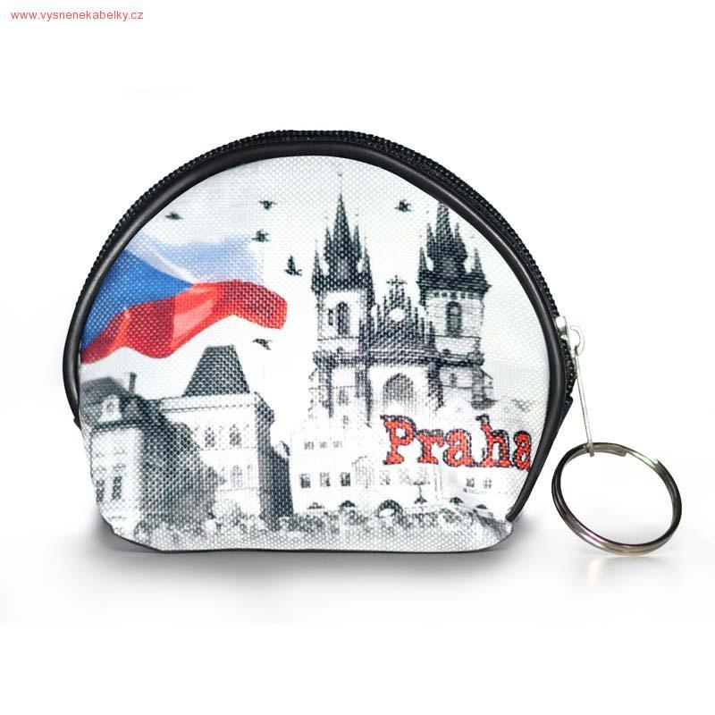 Designová peněženka, kapsička - Praha 1