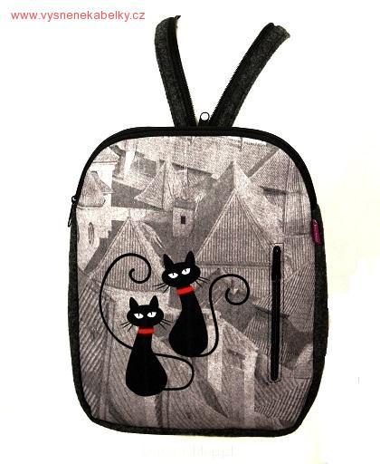 Designový batoh - Kočky na střeše 57b685d9e9